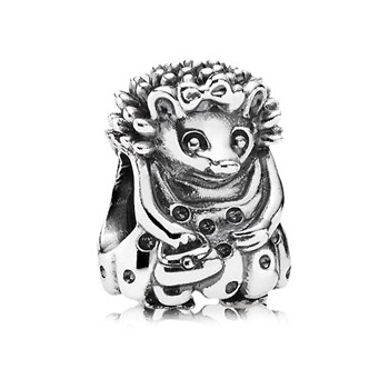 PANDORA Miss Hedgehog Charm RETIRED LIMITED QUANTITIES! 344253