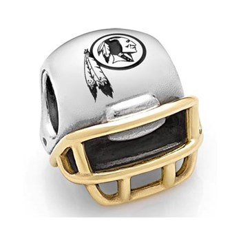 PANDORA Washington Redskins NFL Helmet Charm RETIRED ONLY 2 LEFT!