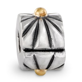 PANDORA Sunburst with 14K Clip-186513