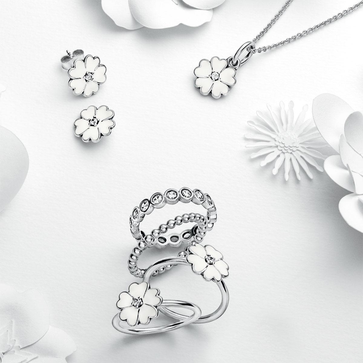 Pandora pendants pancharmbracelets pandora primrose with white enamel pendant pandora primrose with white enamel pendant alt aloadofball Choice Image