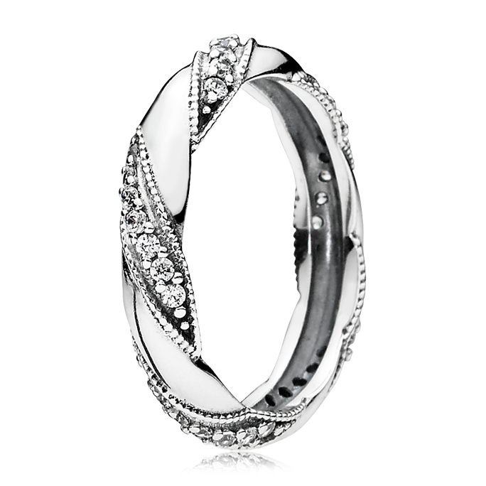 PANDORA Ribbon of Love Ring