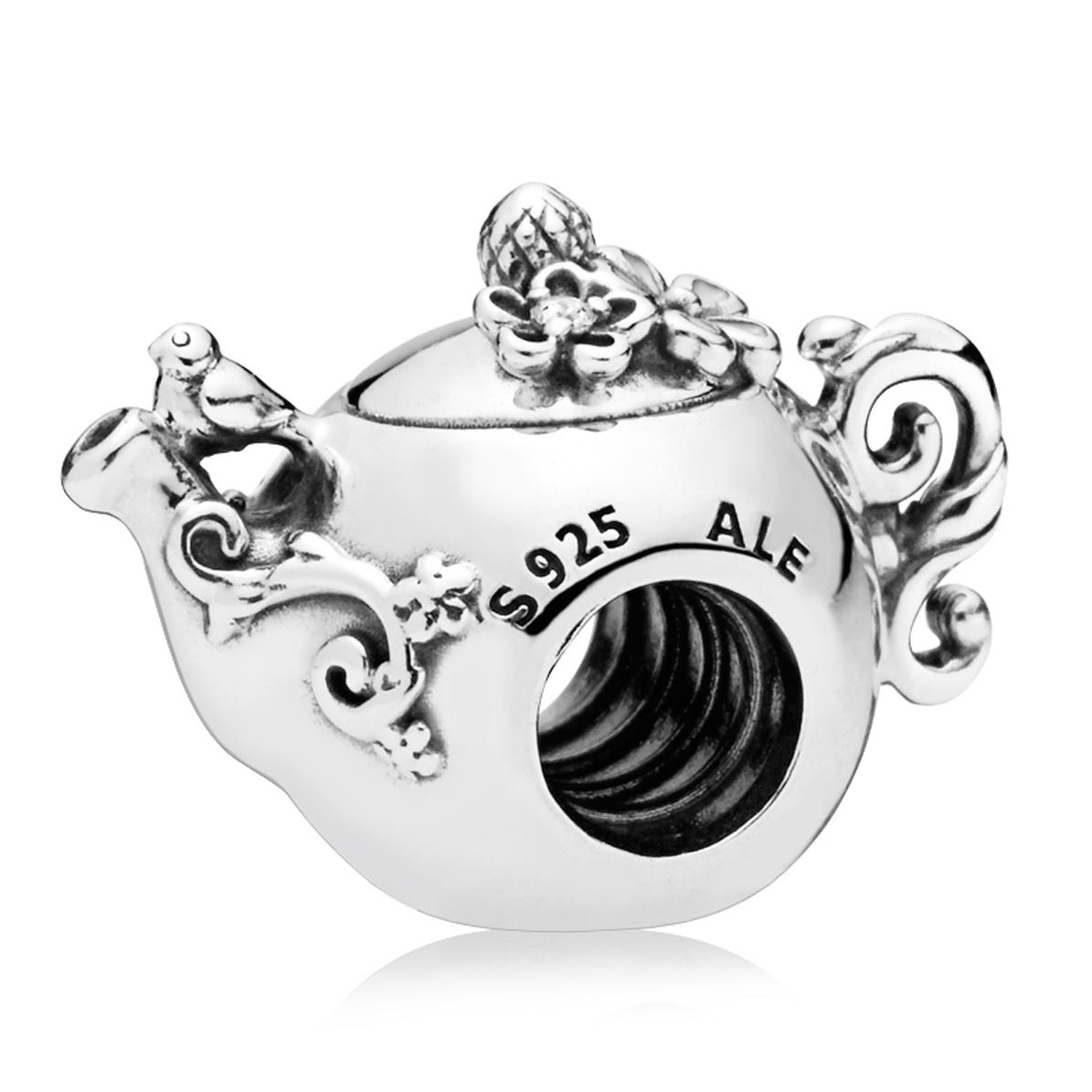 Pandora Women Silver Bead Charm - 797215 uA0ruJpb