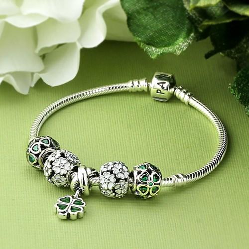 pandora lucky charms charm set