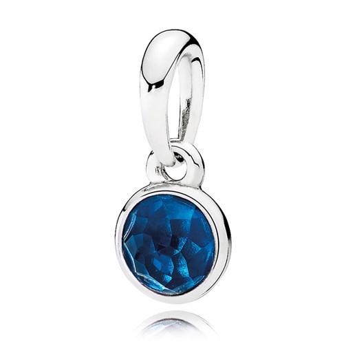 Pandora december droplet london blue crystal pendant pandora december droplet london blue crystal pendant aloadofball Images