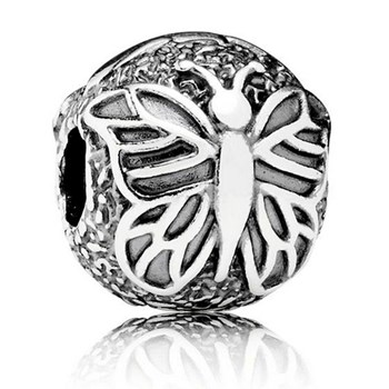 PANDORA Lacewing Butterfly Clip-346376