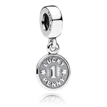 PANDORA Lucky Penny Dangle 347072 RETIRED