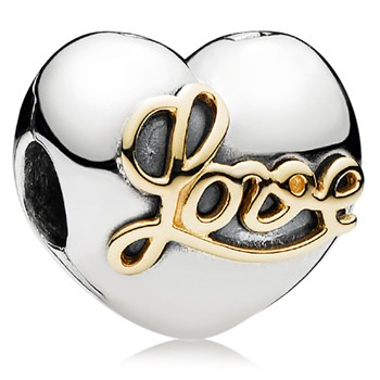 PANDORA Heart of Love with 14K Clip-802-3085