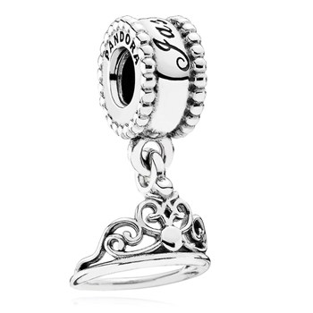 PANDORA Disney Jasmine's Tiara Dangle-802-3149 RETIRED
