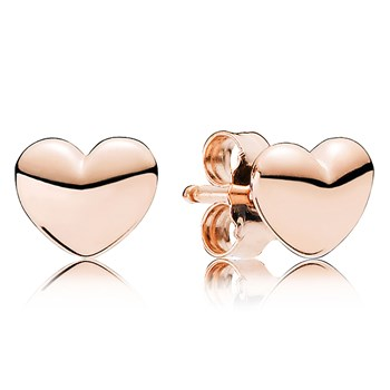 PANDORA Rose™ Petite Hearts Stud Earrings RETIRED ONLY 2 PAIRS LEFT! 804-415