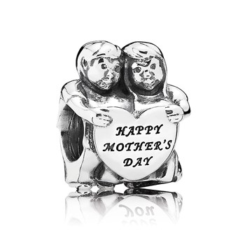 "PANDORA ""From Us"" Happy Mother's Day Charm-802-2946"