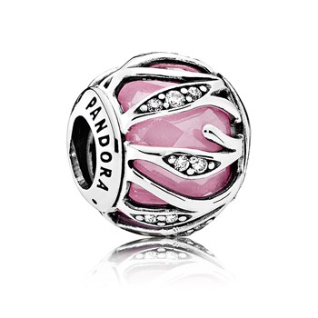 PANDORA Nature's Radiance with Pink & Clear CZ