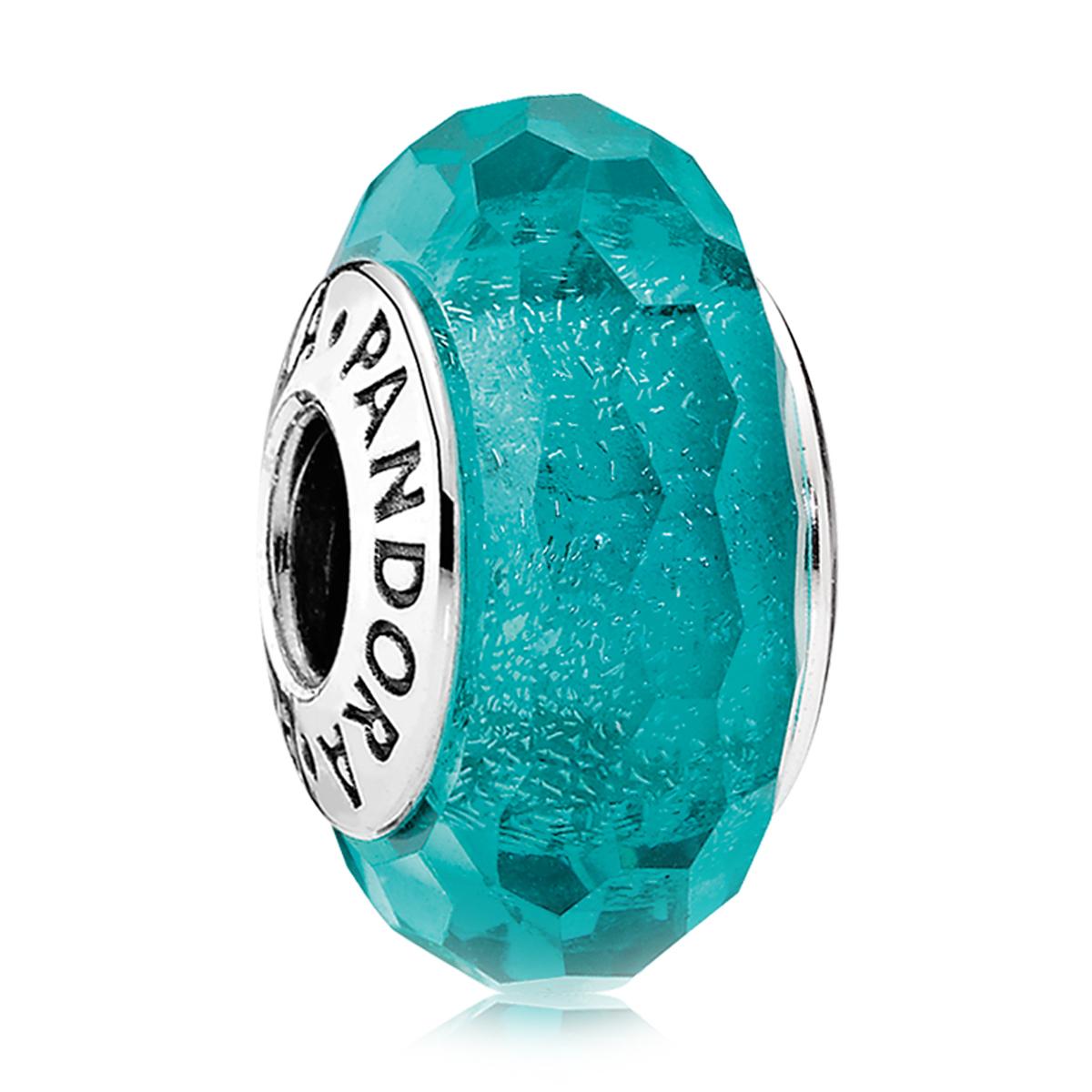 2d46753ff83 wholesale pandora murano glass aqua fascinating bead