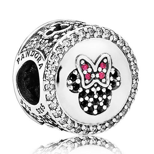 Pandora Disney Mickey Amp Minnie Sparkling Icons Charm