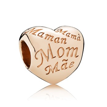 PANDORA Rose™ Mother's Heart Charm RETIRED 802-2967