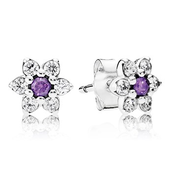 PANDORA Forget Me Not Stud Earrings