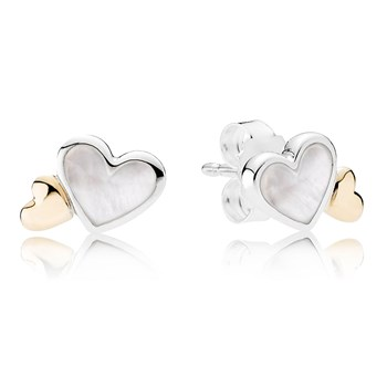 PANDORA Luminous Hearts Earrings