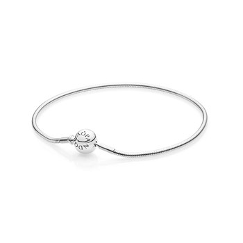PANDORA ESSENCE Collection Sterling Silver PANDORA Clasp Bracelet