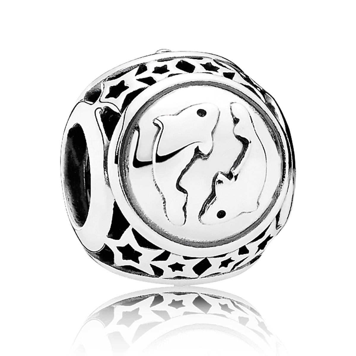 PANDORA Pisces Star Sign Charm