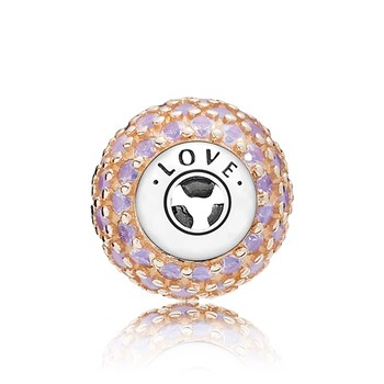 PANDORA ESSENCE Collection LOVE Charm-805-57