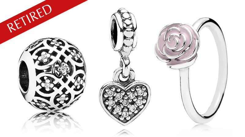 PANDORA Retired Charms & Jewelry