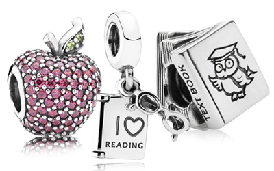 PANDORA Back to School Charms and Jewelry