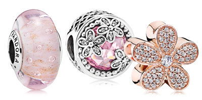PANDORA Spring Charms and Jewelry