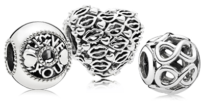 PANDORA Sterling Silver Charms