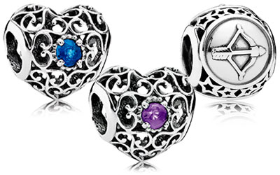 PANDORA Birthstone Charms