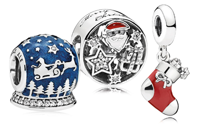 PANDORA Winter - Holiday Charms and PANDORA Jewelry