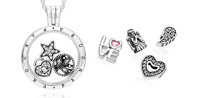 PANDORA Lockets and Locket Charms