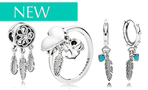 NEW PANDORA Charms and Jewelry Summer Release 2018 The Festival Collection