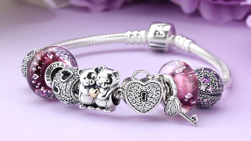Pandora Completed Bracelet Ideas | Bangle And Bracelets