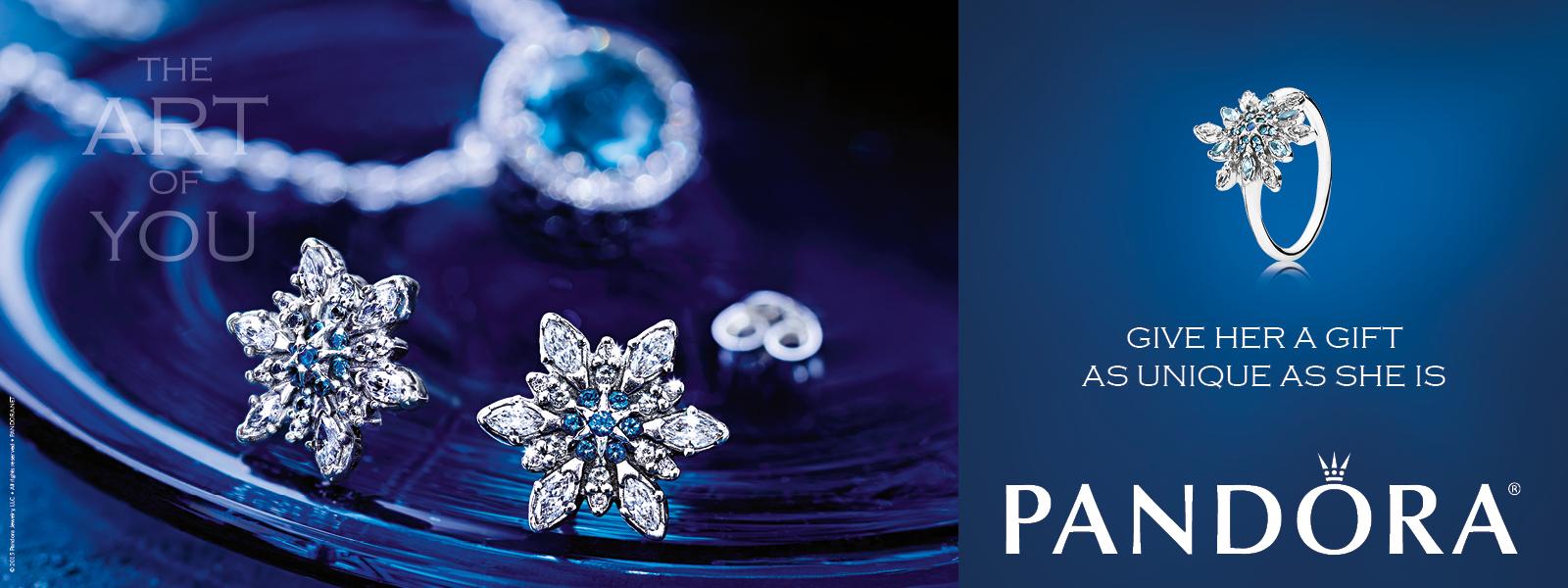PANDORA Winter Earrings