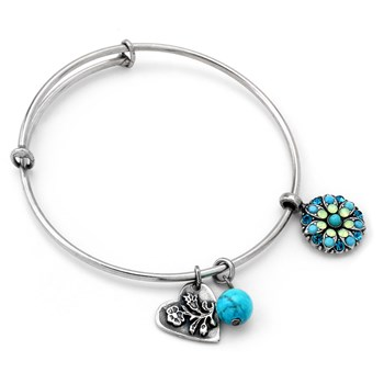 Mariana Blue Angel Bangle 655-02943