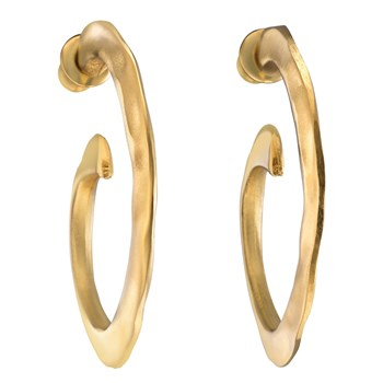 Uno de 50 Lollypops Gold Earrings
