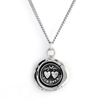 Pyrrha Hearts Talisman Necklace