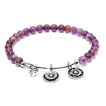 Chrysalis Amethyst BELIEVE Bangle 345074 RETIRED ONLY 1 LEFT!