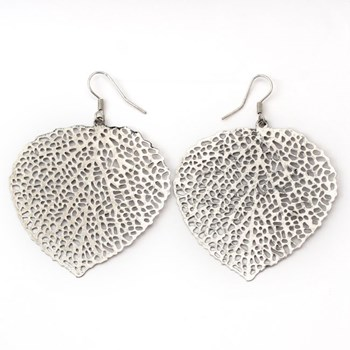 333512-Small Silver Leaf Filigree