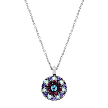 348805-Mariana Purple and Iridescent Angel Necklace
