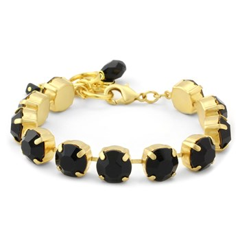 347883-Mariana Black and Gold Bracelet