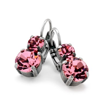 Mariana Dazzling Pink Earrings