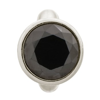 Endless Round Black Dome Charm 346814 - ONLY 1 LEFT!