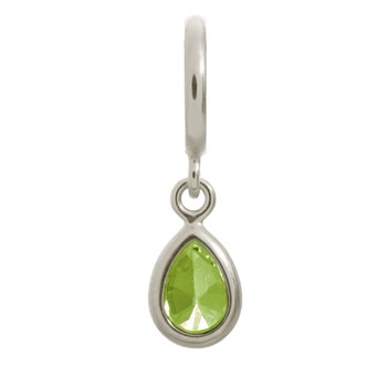 Endless Peridot Drop Charm 346907 - ONLY 1 LEFT!