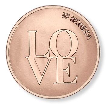 Mi Moneda Love & Dreamcatcher Rose Gold-Plated Medium Disc ONLY 1 LEFT!