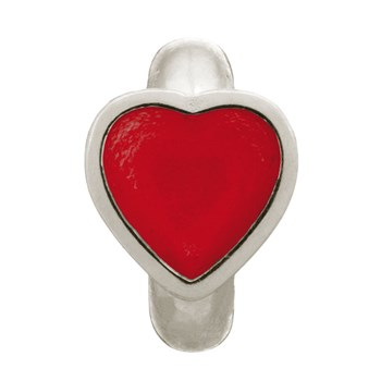 Endless Red Enamel Heart Charm 346823 - ONLY 1 LEFT!