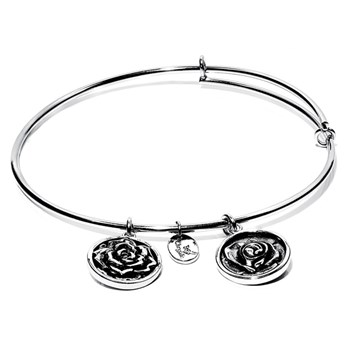 Rose Bangle - Chrysalis Flourish Collection RETIRED ONLY 2 LEFT!