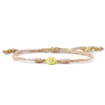 My Saint My Hero Copper & Gold Breathe Bracelet