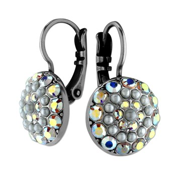 655-2525-Mariana Grey & Iridescent Earrings