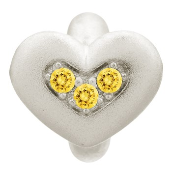 Endless Citrine Triple Love Charm 346873 - ONLY 1 LEFT!