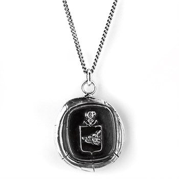Pyrrha Courage Talisman Necklace